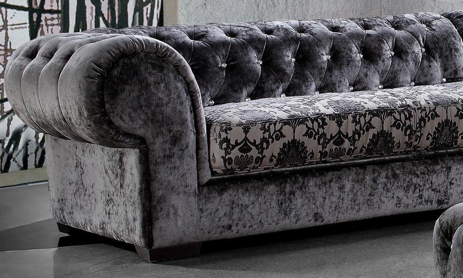 Metropolitan Fabric Sectional Sofa (closer look of fabric)