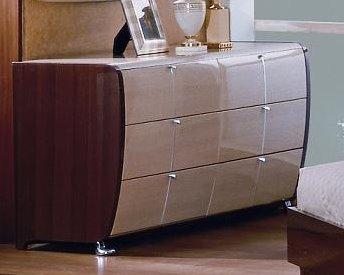 Liza Modern Lacquer Dresser