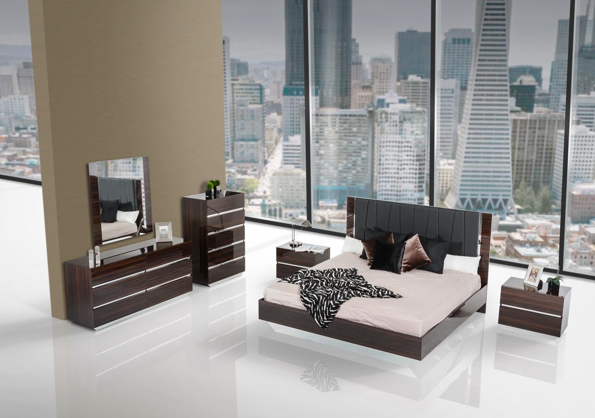 Modern Italian Bedroom Sets Picasso Italian Modern Ebony Lacquer Bedroom Set