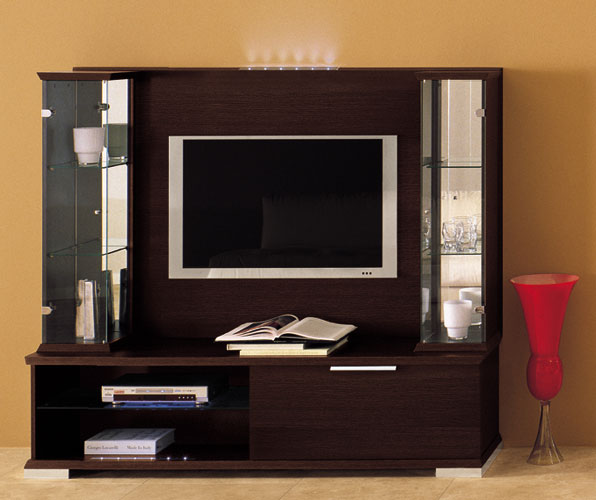 Gallery 115 Modern Wall Unit by Milmueble Designer Wall