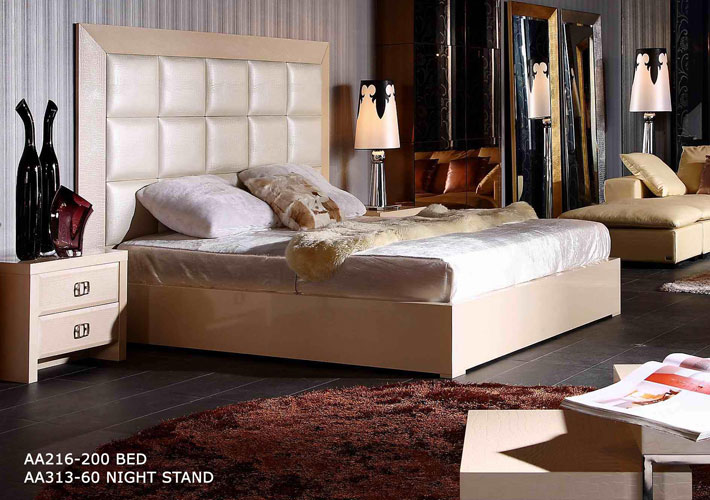 Armani Xavira Glam Bed Sophisticated Furniture For The Modern - Armani bedroom design
