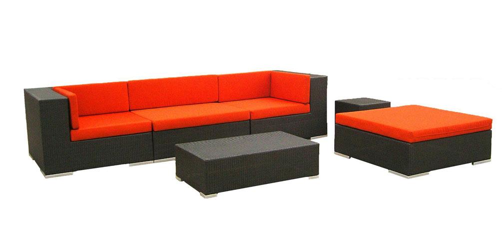 2906 4-Piece Patio Sofa Set