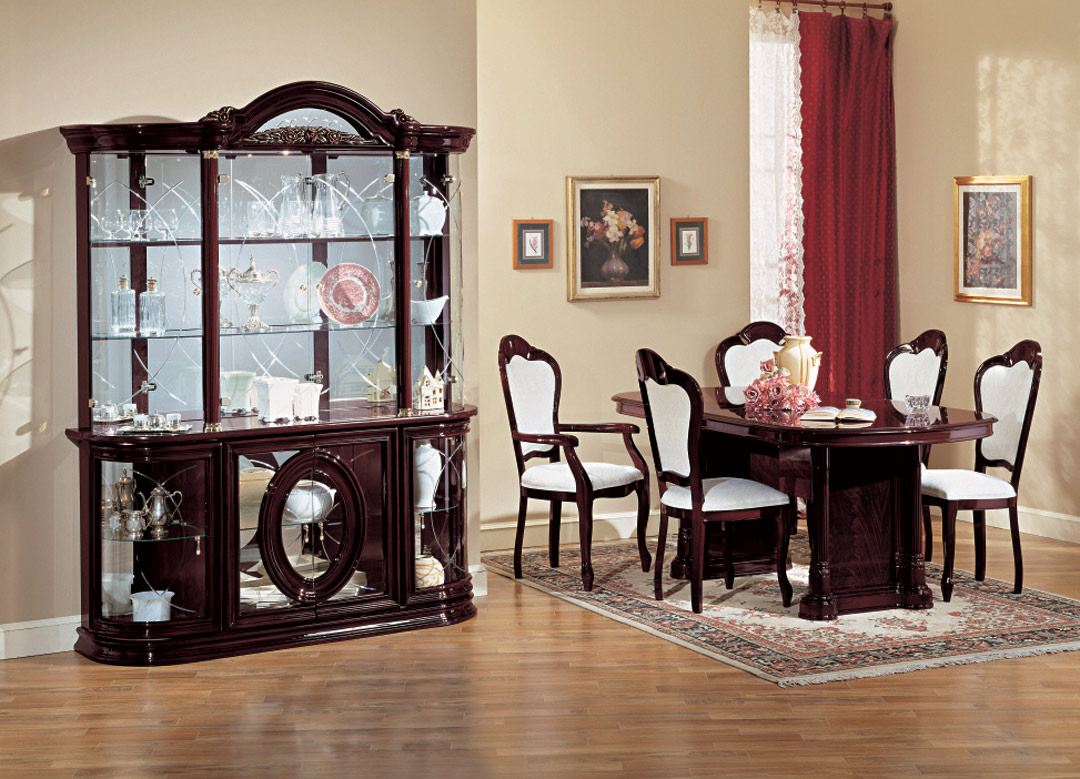 Dining Room Showcase Design Italian Dining Table Sets Ivory Classic Set Italian Dining Room