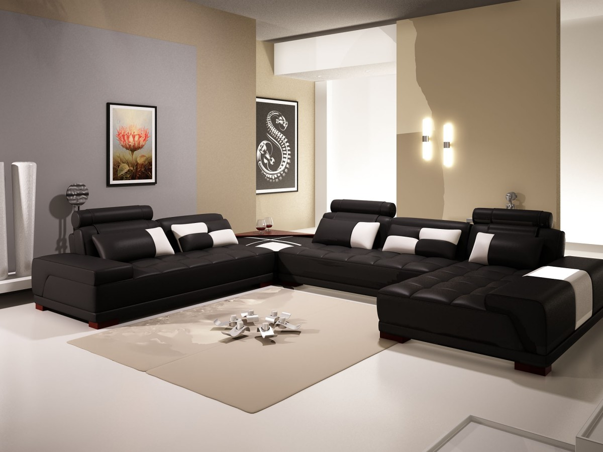 The Use Of Black Furniture In Decorating Your Living Room La Furniture Blog