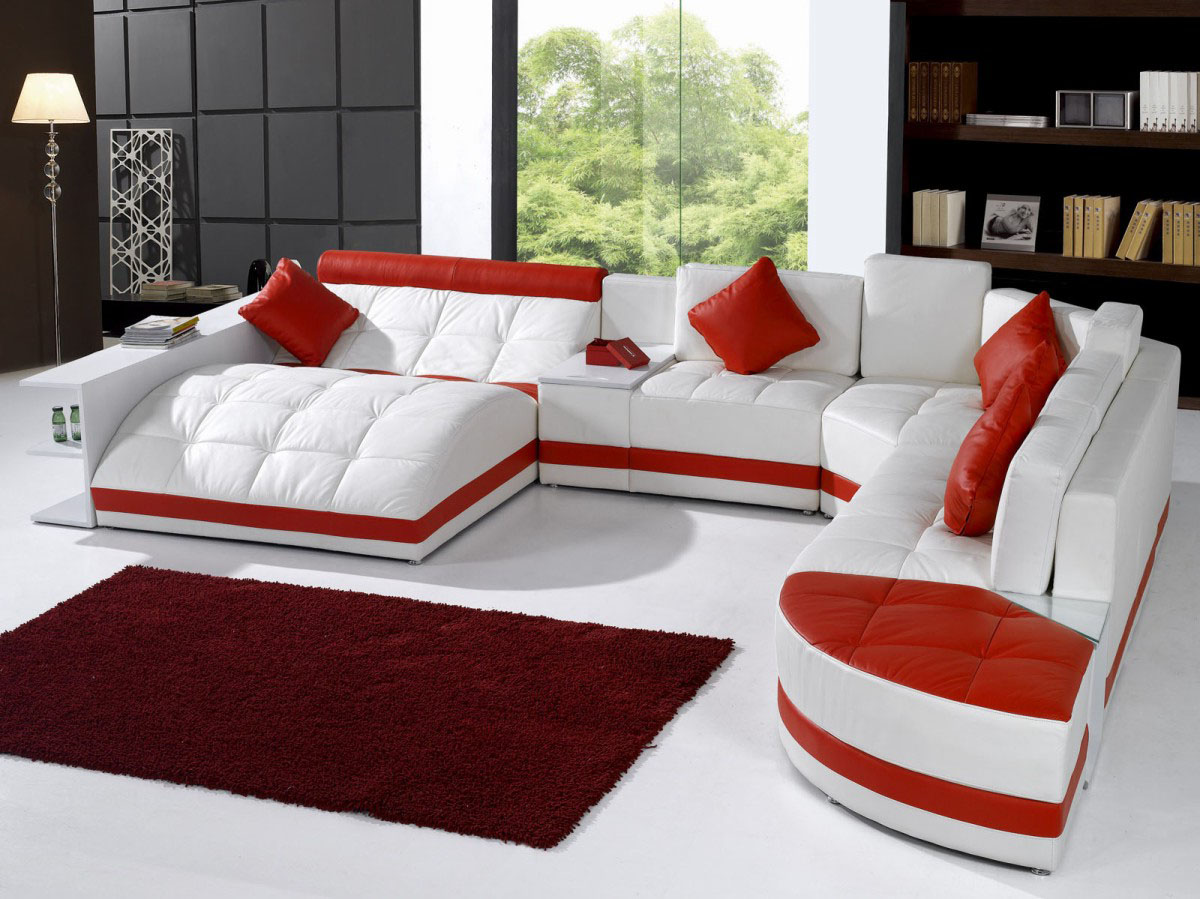 How To Arrange A Sectional Sofa In Your Living Room La Furniture  ~ Living Room Arrangements With Sectional Sofa