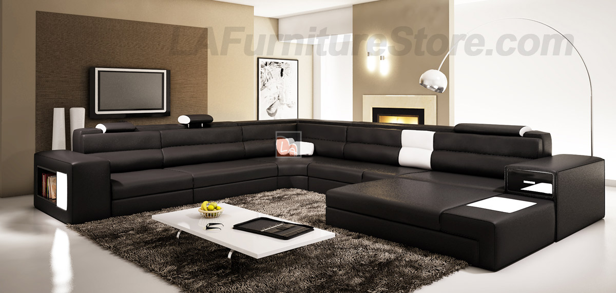 The use of black furniture in decorating your living room for Contemporary living room furniture
