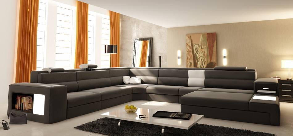 Sofa 5022 — Perfectly Unique for Spacious Living Room Standards