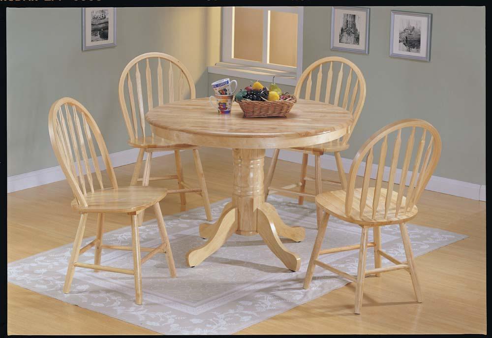 Natural Wood Versus Lacquer Dining Room Furniture La