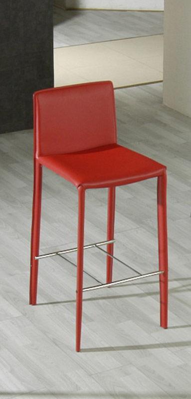 825h Modern Red Barstool