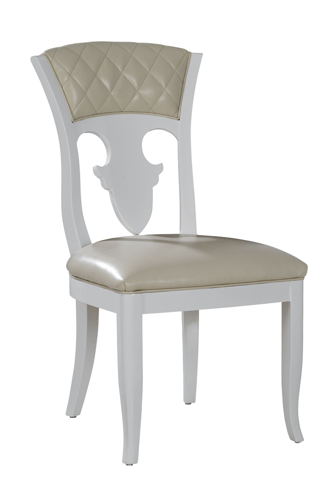 Othello Modern Leather Dining Chair