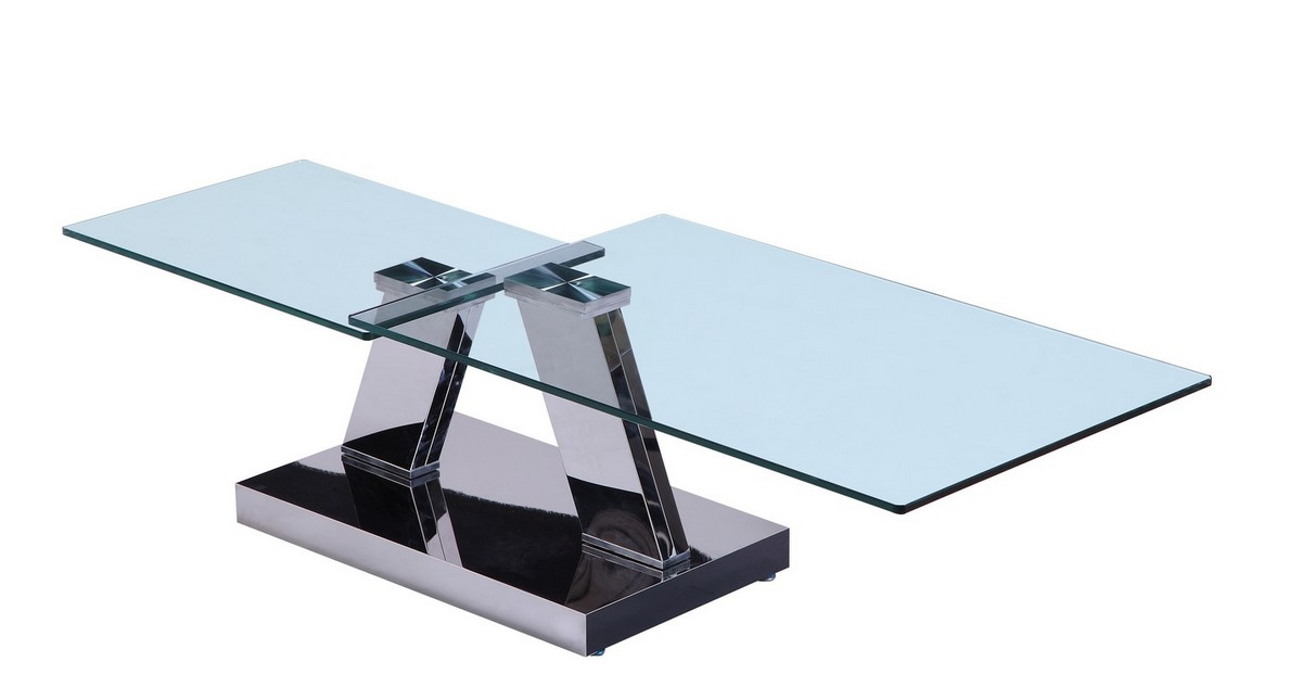 Modrest CT568 Modern Glass Coffee Table