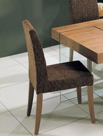 Modrest Aura Modern Walnut Dining Chair Product Picture 2050