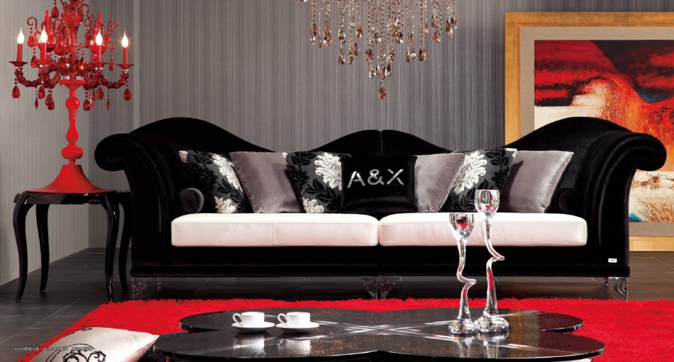 Decorating Your Living Room with Black Leather Furniture - LA Furniture Blog