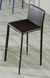 825h Modern Black Barstool