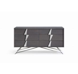 Modrest Nicola Modern Grey Oak Dresser