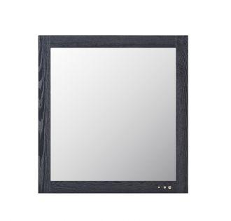 Modrest Wales Modern Smoked Ash Mirror