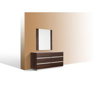 Modrest Luxor Italian Modern Ebony Mirror
