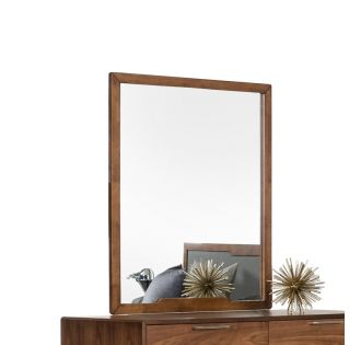 Nova Domus Soria Mid-Century Walnut Mirror
