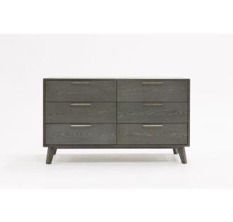 Nova Domus Soria Modern Grey Wash Dresser