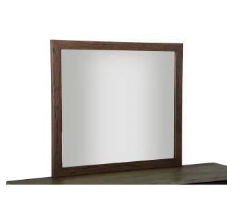 Modrest Selma Modern Dark Aged Oak Mirror