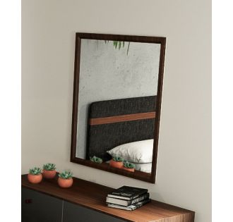 Nova Domus Dali Mid-Century Walnut Mirror