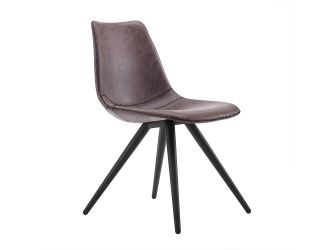 Modrest Condor - Modern Brown Dining Chair (Set of 2)
