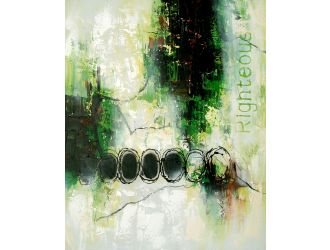 Modrest ADC3514 - Abstract Oil Painting
