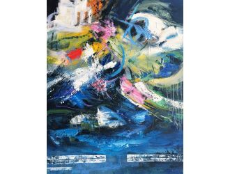 Modrest ADD3230 - Abstract Oil Painting