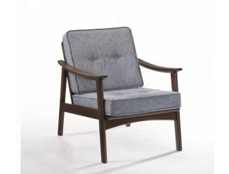 Modrest Andie - Modern Dark Grey Accent Chair