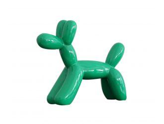 Modrest Modern Green Balloon Dog Sculpture
