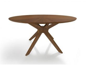 Modrest Prospect - Modern Walnut Dining Table