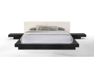 Modrest Tokyo - Contemporary Black and White Platform Bed