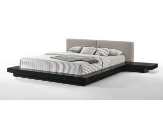 Modrest Tokyo - Contemporary Black and Grey Platform Bed
