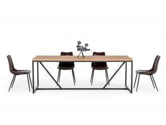 Modrest Fagan - Rustic Oak Dining Table