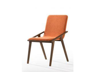 Zeppelin - Modern Orange Dining Chair (Set of 2)