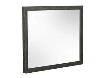 Modrest Howard - Modern Shagreen Grey Leatherette Mirror