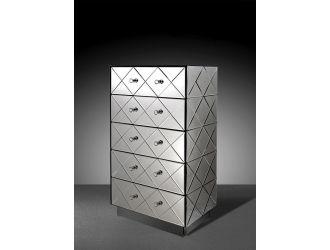 Segovia - Modern Mirrored Bedroom Chest