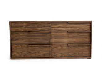 Modrest Amberlie - Modern Walnut Dresser