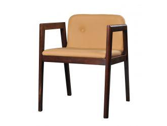 Modrest Avrum - Modern Camel Eco-Leather Dining Chair (Set of 2)