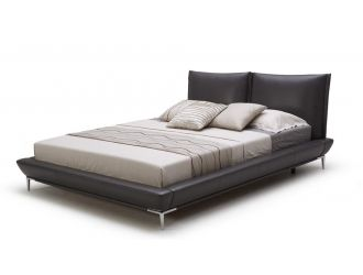 Loft Modern Eco-Leather Platform Bed