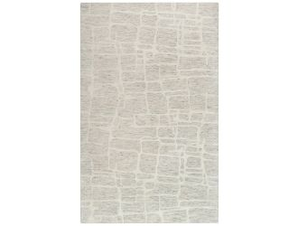 Kaaleen Becker Contemporary Ivory 5' x 8' Rug