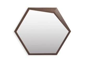 Modrest Chelton - Modern Walnut Mirror