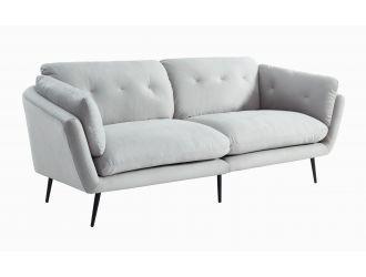 Divani Casa Cody - Modern Grey Fabric Sofa