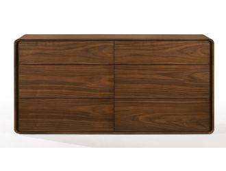 Modrest Dustin - Modern Walnut Dresser