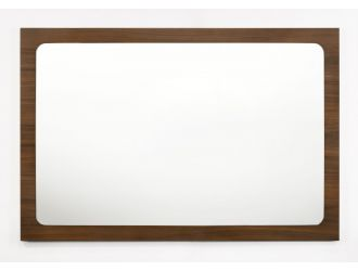 Modrest Dustin - Modern Walnut Mirror