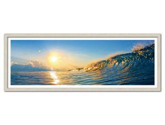 Modrest Swell Framed Acrylic Painting