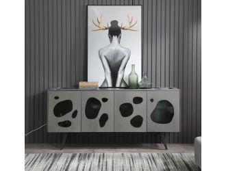Modrest Fontana - Modern Grey Buffet