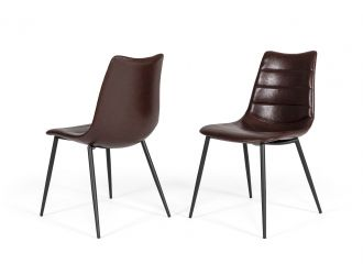 Gilliam - Modern Brown Dining Chair (Set of 2)