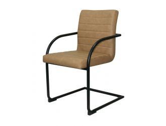 Modrest Ivey - Modern Tan Dining Chair (Set of 2)