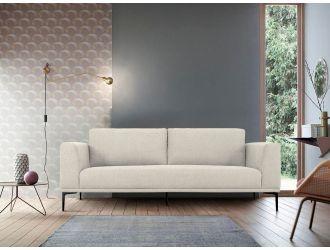 Divani Casa Jada - Modern Light Beige Fabric Sofa